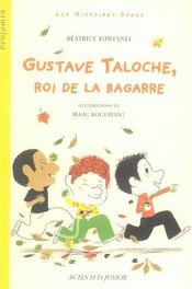 Gustave taloche, roi de la bagarre - Intérieur - Format classique