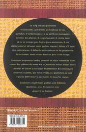 Horoscope Chinois 2005 ; L'Annee Du Coq - 4ème de couverture - Format classique
