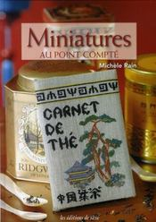 Miniatures au point compté - Intérieur - Format classique