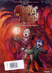 Monster allergy ; t.11 et t.12 - 4ème de couverture - Format classique