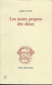 Noms Propres Des Dieux (Les) - Couverture - Format classique