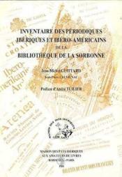 Inventaire Des Periodiques Iberiques Coll. Des Melange - Couverture - Format classique