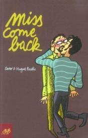 Miss come back - Couverture - Format classique