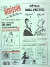 Herisson (Le) N°2433 du 02/12/1992 - Couverture - Format classique