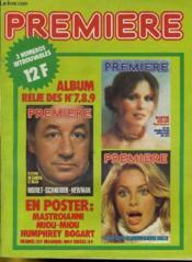 Premiere Album N°3 - 3 Numeros Introuvables - Album Relie Des N°7 - 8 - 9 - Couverture - Format classique