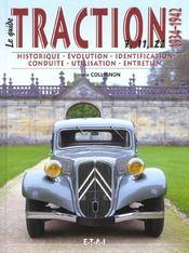 Citroen traction t.i ; 1934-1942 - Intérieur - Format classique