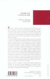 Partager l'eau ; irrigation et conflits au nord-ouest du Portugal - 4ème de couverture - Format classique
