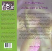 En méditerranée : les jardiniers de l'avenir - 4ème de couverture - Format classique