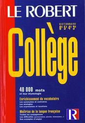 Robert College - Intérieur - Format classique