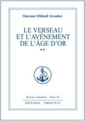 Oeuvres Completes T.26 ; Le Verseau Et L'Avènement De L'Age D'Or T.2 - Couverture - Format classique