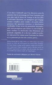Embrouille (L') - 4ème de couverture - Format classique