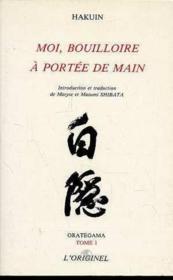 Orategama 1 Moi Bouilloire A Portee De Main - Couverture - Format classique