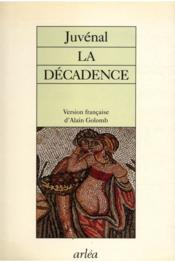 Decadence (La) - Couverture - Format classique