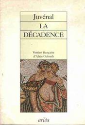 Decadence (La) - Intérieur - Format classique