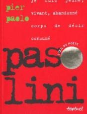 Pasolini - Couverture - Format classique