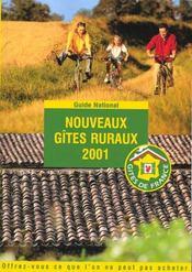 Nouveaux Gites Ruraux ; Edition 2001 - Intérieur - Format classique