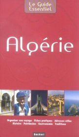 Le guide essentiel : Algérie - Intérieur - Format classique