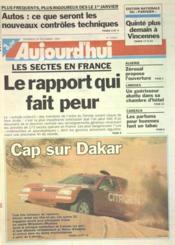 Aujourd'Hui N°15961 du 29/12/1995 - Couverture - Format classique