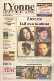Yonne Republicaine (L') N°238 du 12/10/2005 - Couverture - Format classique
