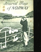 Tourist Map Of Norway - Carte De Tegnforklaring Legend 1:1600000 - Couverture - Format classique