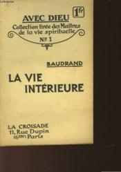 La Vie Interieure - Couverture - Format classique