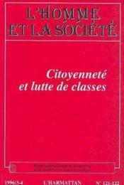 Citoyennete Et Lutte De Classes - Couverture - Format classique