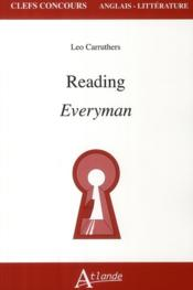 Vente livre :  Reading everyman  - Carruthers