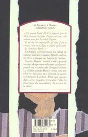 Dante n'avait rien vu - 4ème de couverture - Format classique
