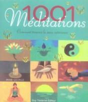 1001 Meditations - Couverture - Format classique