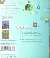 1001 Meditations - 4ème de couverture - Format classique