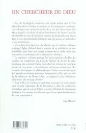 Chercheur De Dieu - 4ème de couverture - Format classique