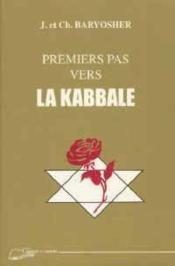 Premiers Pas Vers La Kabbale - Couverture - Format classique