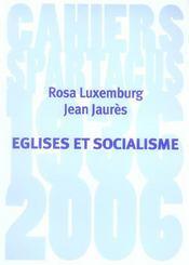 Eglises Et Socialisme B169 - Intérieur - Format classique