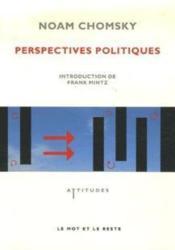 Perspectives politiques - Couverture - Format classique