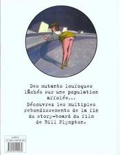 Les mutants de l'espace t.2 - 4ème de couverture - Format classique