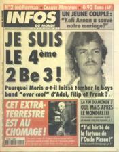 Infos Du Monde N°2 du 18/03/1998 - Couverture - Format classique