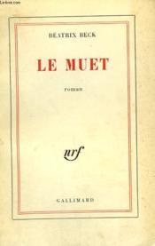 Le Muet. - Couverture - Format classique