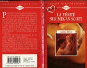La Verite Sur Megan Scott - Found Father - Couverture - Format classique