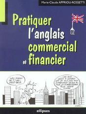 Pratiquer L'Anglais Commercial Et Financier - Intérieur - Format classique
