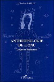 Anthropologie de l'ONU - Intérieur - Format classique