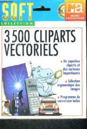 Plus De 1000 Cliparts Vectoriels Cd-Rom - Couverture - Format classique