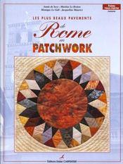Plus Beaux Pavements De Rome En Patchwork (Les) - Intérieur - Format classique