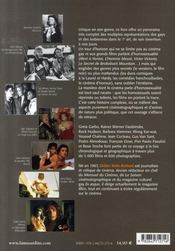 L'homosexualité au cinéma - 4ème de couverture - Format classique