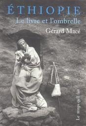 Ethiopie, Le Livre Et L'Ombrelle - Intérieur - Format classique