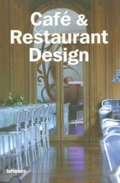 Cafe Et Restaurant Design - Couverture - Format classique