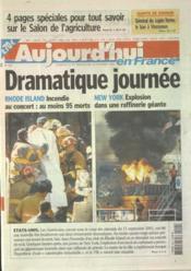 Aujourd'Hui En France N°527 du 22/02/2003 - Couverture - Format classique