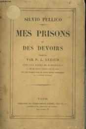 Mes Prisons Et Des Devoirs - Couverture - Format classique