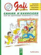 Lecture ; CP ; cahier d'exercices t.2  - Alain Bentolila