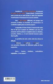 Anglais Home-Made Crosswords Mots Croises Thematiques - 4ème de couverture - Format classique
