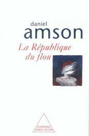 La Republique Du Flou - Intérieur - Format classique